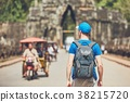 Tourist in the ancient city 38215720