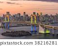 Tokyo Bay Japan Skyline 38216281