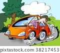 driving, illustration, fun 38217453