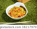 Fried rice with seafood in Japanese style 38217970