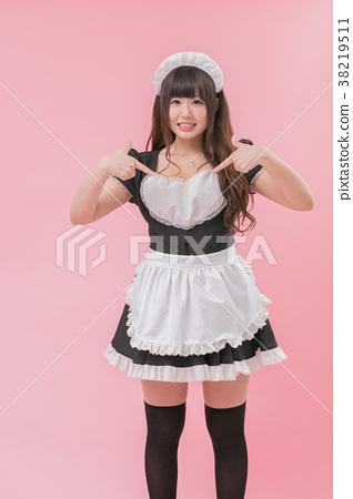 黑人女仆cosplay 38219511