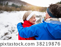 winter, couple, nature 38219876