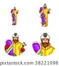 set, avatar, male 38221096