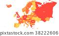 지도, 약도, 유럽 38222606