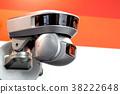Modern motorized surveillance camera. Double wide 38222648