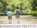 兒童小學學生出勤圖像 38223535