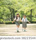 小學生 學校通勤 通勤上學 38223544