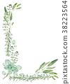 허브, 식물, 수채화 38223564