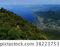 View of the Osumi Strait from Kaimondake 38223753