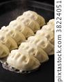 餃子 煎鍋貼 料理 38224051