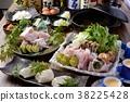 鍋裡煮好的食物 用鍋烹飪 食物 38225428