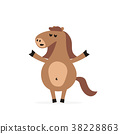 horse creation cartoon 38228863
