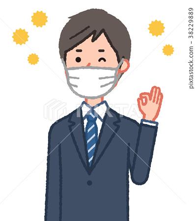 mask, respirator, pollen 38229889