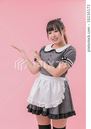 Introduction to clean-style maid cosplay 38230172