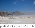 snow, scene, blue 38230732