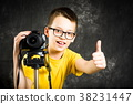 男孩 照相机 青少年 38231447