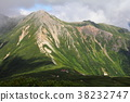 北阿尔卑斯 高山的 黑部峡谷 38232747