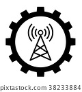 telecommunication industry icon 38233884