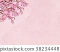 日本纸 和纸 樱花 38234448