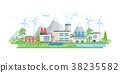 เวกเตอร์,กังหันลม,โรงงาน 38235582