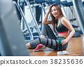 여성, 여자, 체육관 38235636
