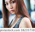 健身房女人肖像 38235738