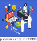 science laboratory isometric 38239990