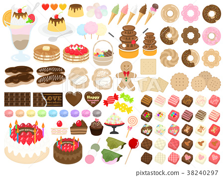 中式點心 甜食 甜點 38240297