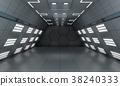 Smart modern future background sci-fi room 38240333