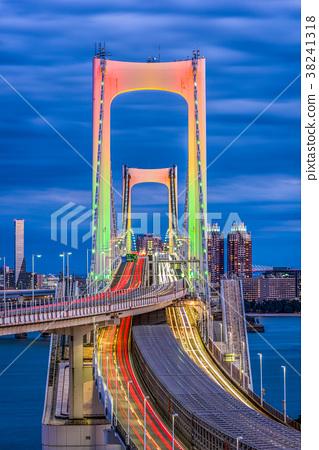 Rainbow Bridge Tokyo Japan 38241318
