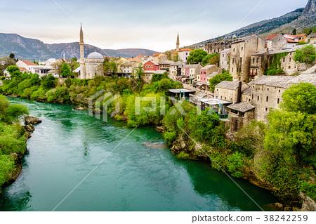 Mostar and Neretva River 38242259