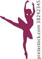 Ballerina Dancing Tutu 38242345