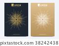 Modern vector template for brochure Leaflet flyer 38242438