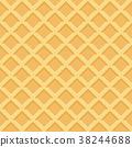 waffle, pattern, background 38244688