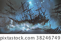 pirate shipwreck in the sky 38246749