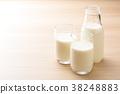 牛奶 牛奶瓶 杯 38248883