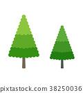 矢量 树 树木 38250036