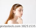 신부 뷰티 샷 외국인 여성 38251535