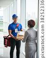 Delivering lunch 38252336