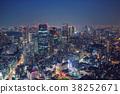 东京夜景 38252671