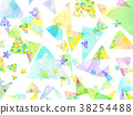 水彩畫 圖案 壁紙 38254488