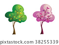 illustration tree for cartoon 38255339