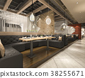 interior lobby restaurant 38255671