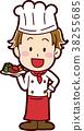 요리사의 일러스트 소재 38255685
