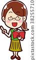 插圖 插畫 可愛 38255710