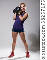 workout,dumbbell,female 38257175