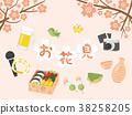 樱花观赏图像 38258205