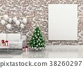 interior 3d christmas 38260297