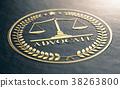 Golden Advocate Symbol 38263800