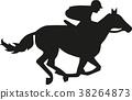 horse rider jockey 38264873